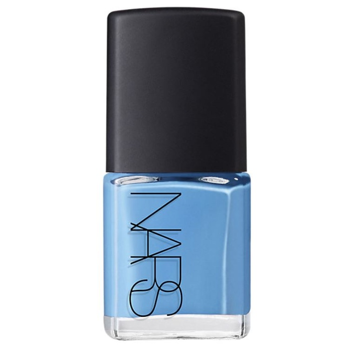 Best Summer Nail Colors - Nars 'Iconic Color' Nail Polish in Ikiru Blue