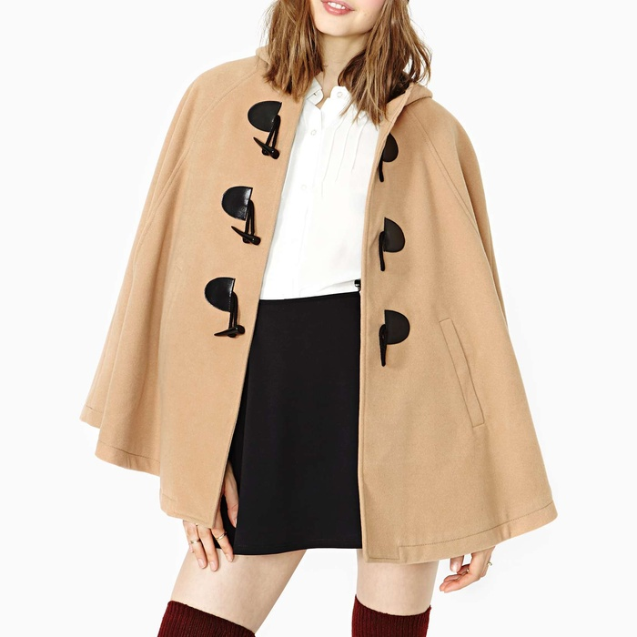 Best Fall Capes - Nasty Gal English Nights Cape