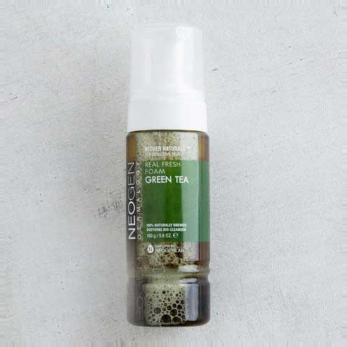 Best Korean Beauty Products - NEOGEN Green Tea Real Fresh Foam Cleanser
