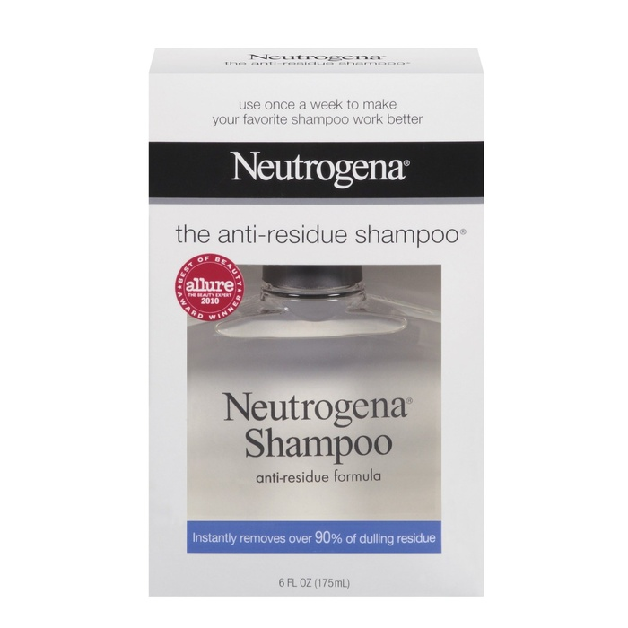 Best Shampoos for Oily hair - Neutrogena Anti-Residue Formula Shampoo