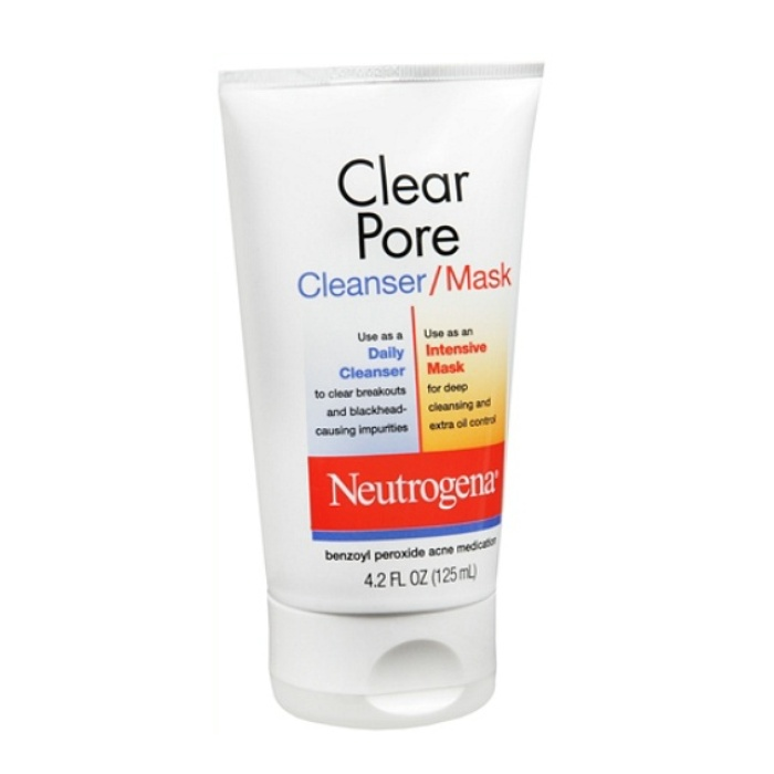Best Deep Pore Cleansers - Neutrogena Clear Pore Cleanser/Mask