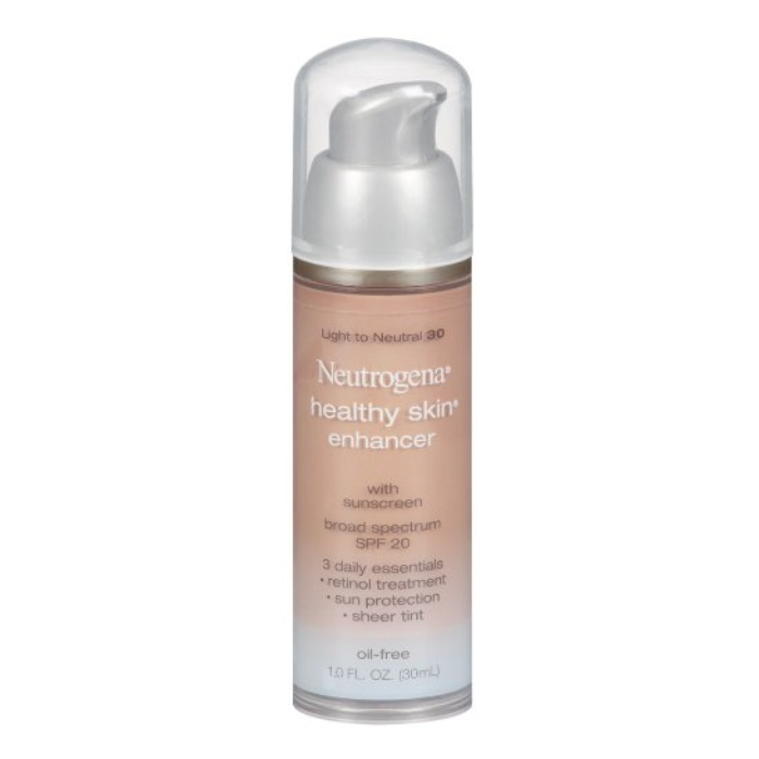 Best Best-selling Drugstore Foundations - Neutrogena Healthy Skin Enhancer