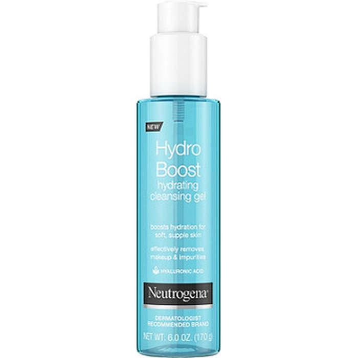 Best Moisturizing Cleansers - Neutrogena Hydroboost Hydrating Cleansing Gel