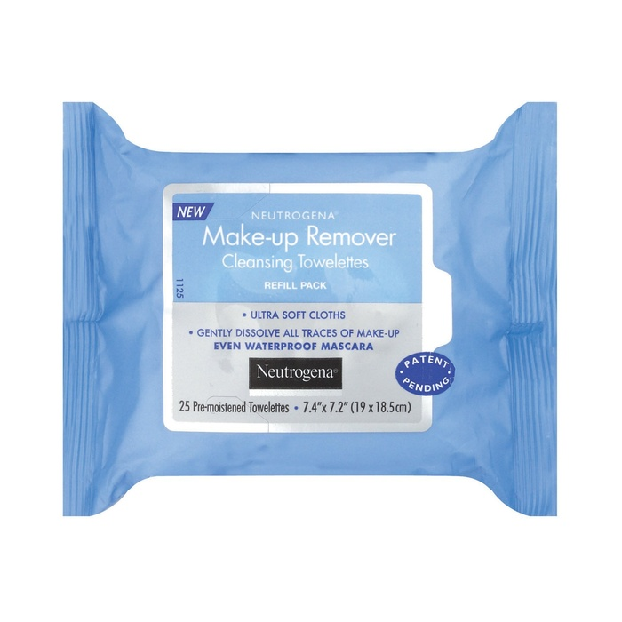 Best Facial Cleansing Towelettes - Neutrogena Makeup Remover Cleansing Towelettes
