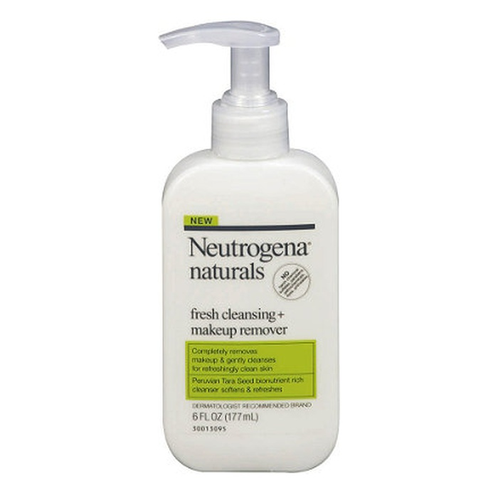 Best Drugstore Makeup Remover - Neutrogena Naturals Fresh Cleansing and Makeup Remover