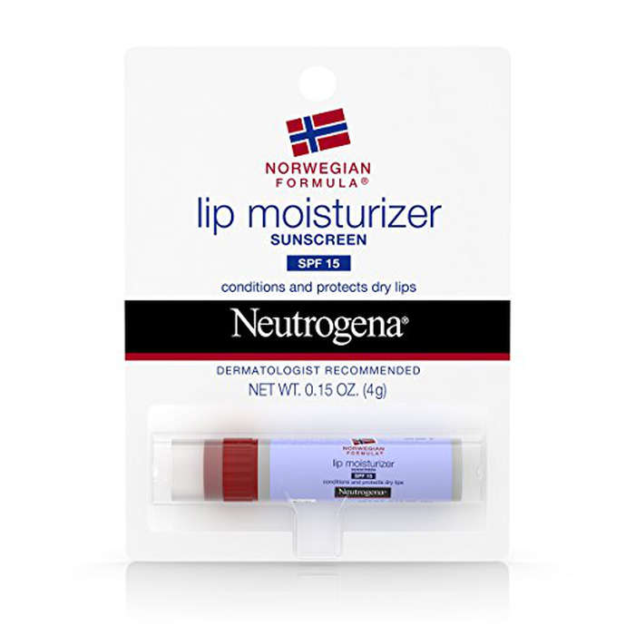 Best Medicated Lip Balm - Neutrogena Norwegian Formula Lip Moisturizer With Sunscreen