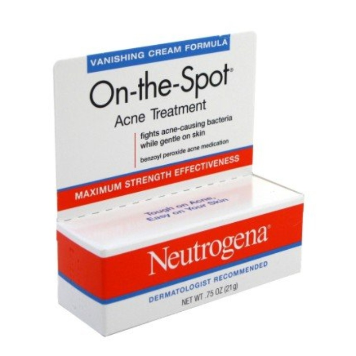 Best Acne Spot Treatments - Neutrogena On-the-Spot Acne Treatment, Vanishing Formula