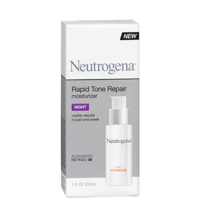 Best Beauty Products for Uneven Skintone - Neutrogena Rapid Tone Repair Moisturizer Night