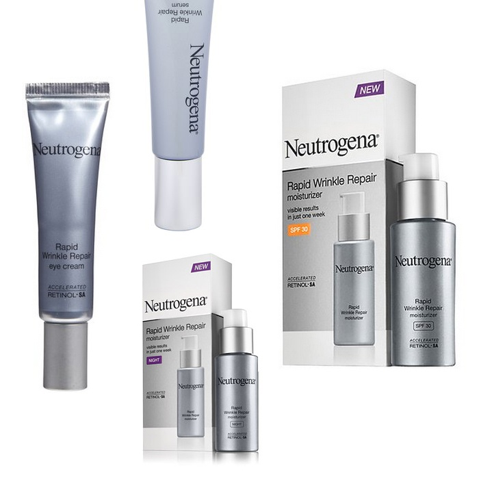 Best Anti-aging products under $30 - Neutrogena Rapid Wrinkle Collection