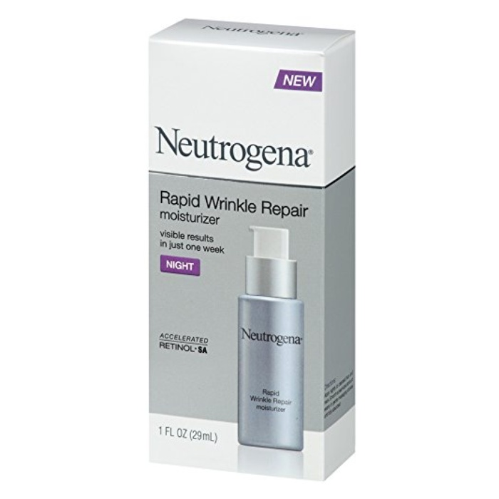 Best Drugstore Night Creams - Neutrogena Rapid Wrinkle Repair Night Moisturizer