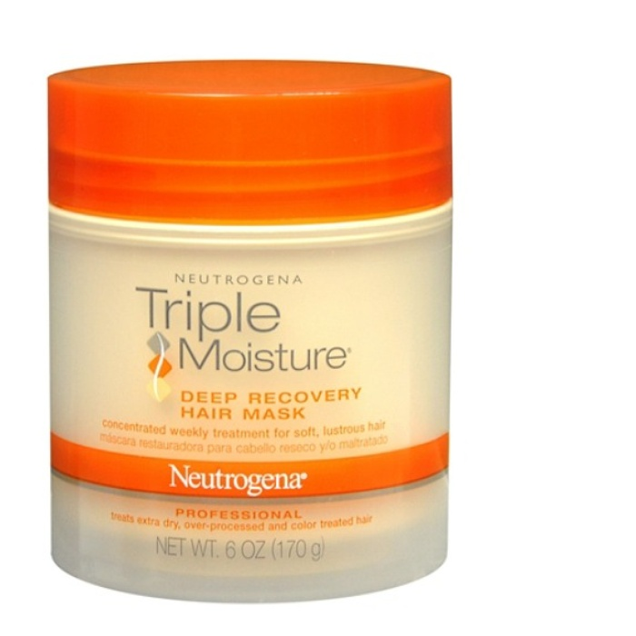 Best Drugstore Hair Products - Neutrogena Triple Moisture Deep Recovery Hair Mask