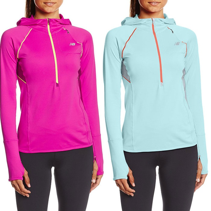 Best Fitness Fashion & Gear on Amazon - New Balance Women's Impact Hoodie