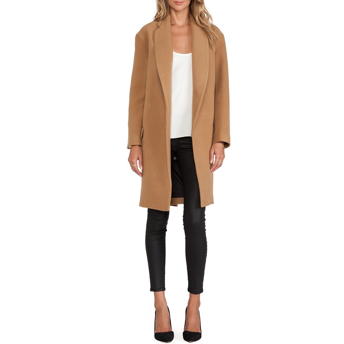 Best Camel Coats - Nicholas Felted Wool Full Length Coat
