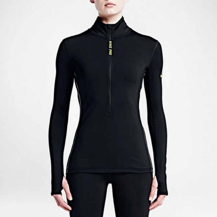 Best Cold Weather Workout Tops - Nike Pro Hyperwarm Half Zip