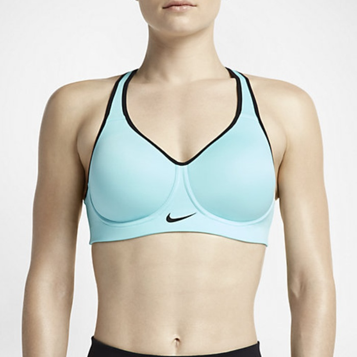 Whenever we need a high-impact running bra, we know we can depend on Saucony. The running brand typically forgoes unnecessary bells and whistles with their bras in favor of products that deliver dependable results. Though the bra looks pretty plain and straightforward, don't be fooled—it delivers unbeatable support.