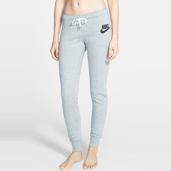 Best Loungewear for Fall - Nike 'Rally' Tight French Terry Sweatpants