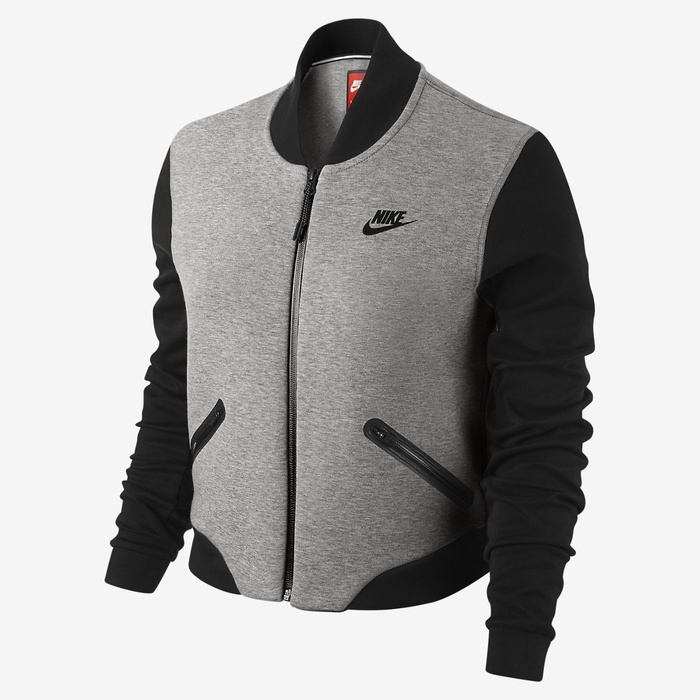 Best Gym-to-Street Fashion - Nike Wool Tech Fleece Bomber