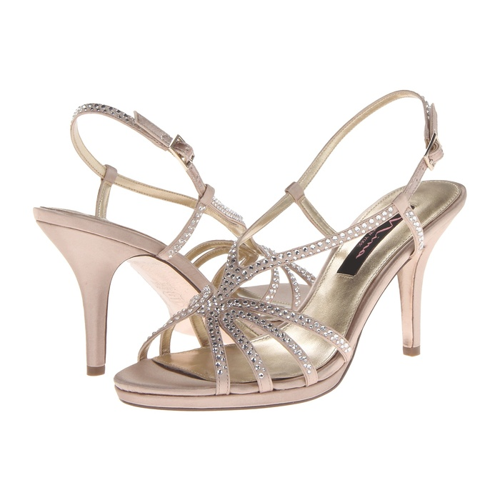Best Comfortable Heels Under $100 for Weddings - Nina Bobbie Evening Sandals