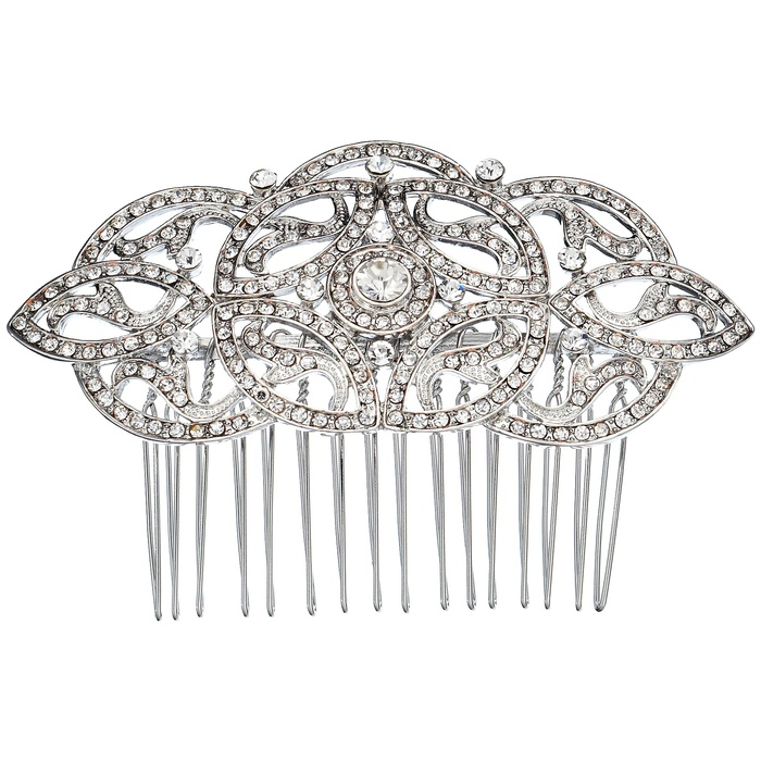 Best Bridal Hair Accessories - Nina Olinda Hair Comb