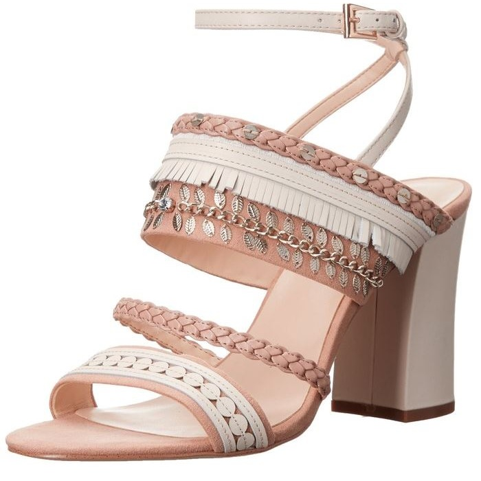 Best Nude Shoes For Summer - Nine West Baebee Fabric Heeled