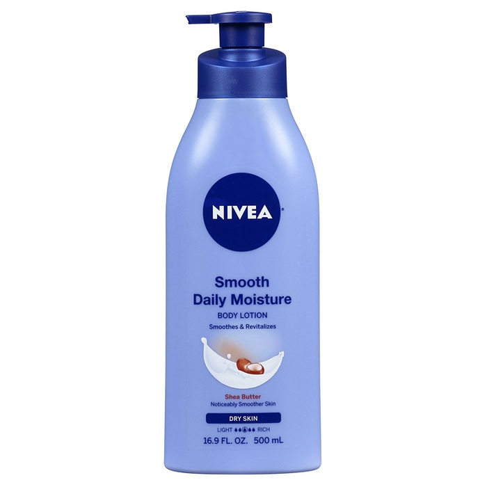 Best Lightweight Body Lotion - Nivea Smooth Daily Moisture Body Lotion