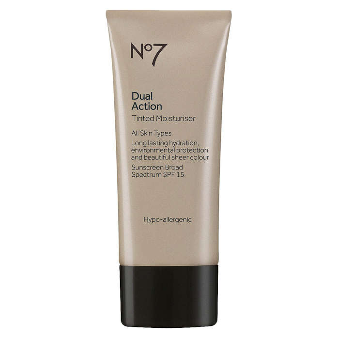 Best Drugstore Tinted Moisturizers - No7 Dual Action Tinted Moisturizer