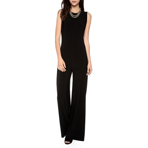 Best Black Sleeveless Jumpsuits - Norma Kamali Kamali Kulture Sleeveless Jumpsuit