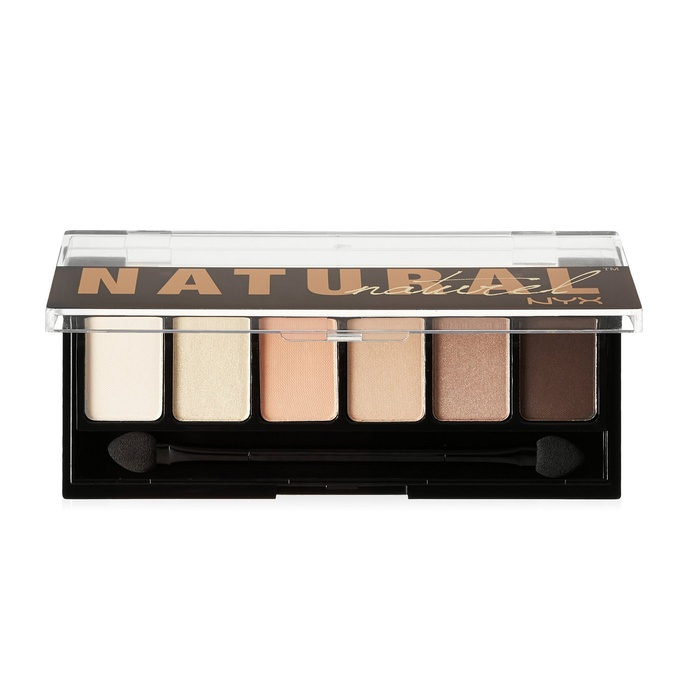 Best Eyeshadows Under $15 - NYX Cosmetics The Natural Shadow Palette