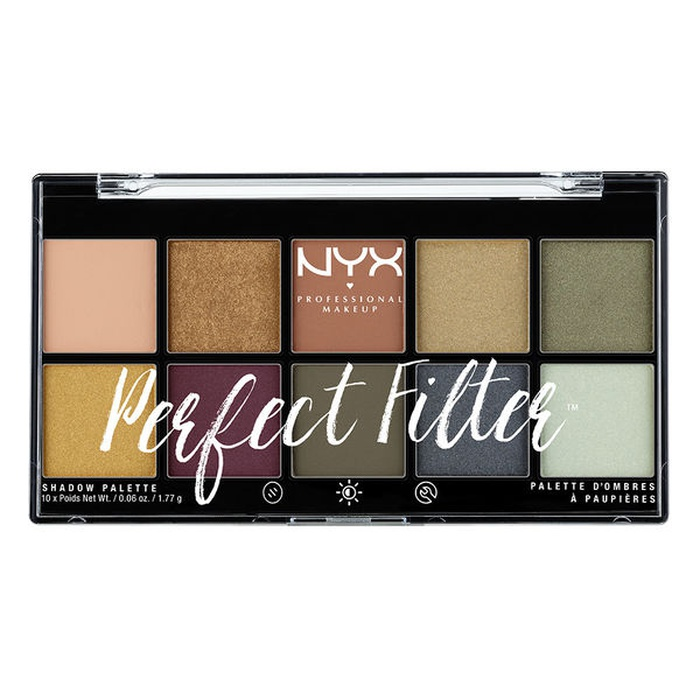 Best Summer Eyeshadow Palettes - NYX Olive You Perfect Filter Shadow Palette