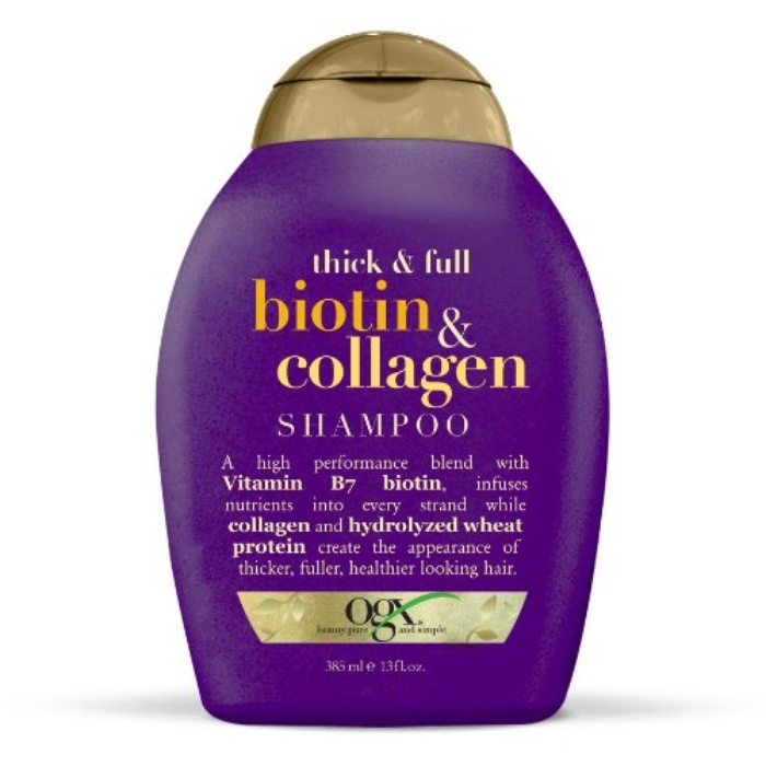 Best Drugstore Volumizing Shampoos - OGX Thick & Full Biotin & Collagen Shampoo