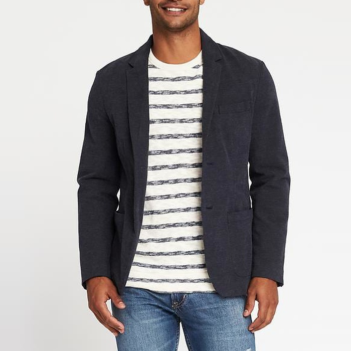 Best Men's Casual Blazers and Sports Coats - Old Navy Built-In Flex Blazer for Men
