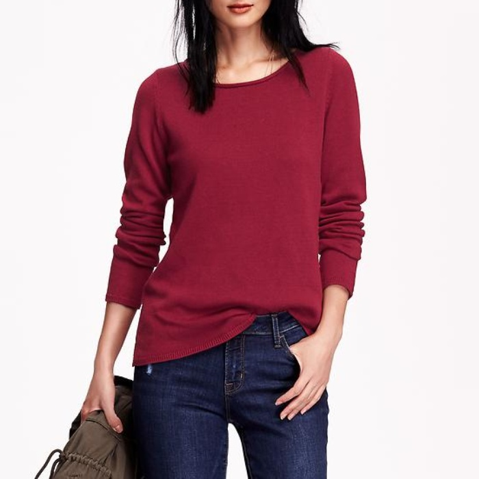 Best Crewneck Sweaters Under $100 - Old Navy Classic Crew Neck Sweater
