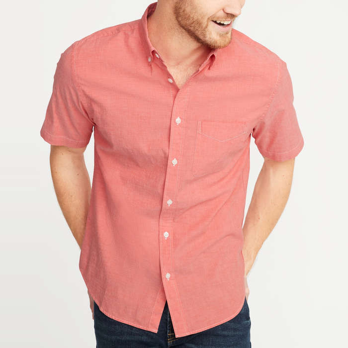 ffa5b1be1c80 10 Best Men's Casual Button-Down Shirts | Rank & Style