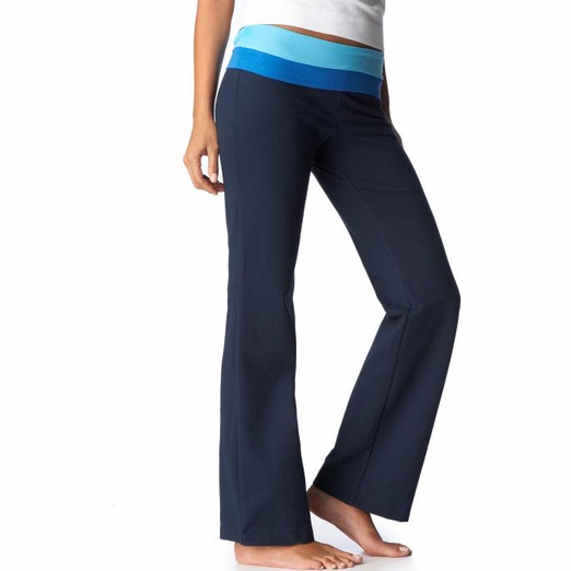 Old Navy Women's Fold-Over Yoga Pants | Rank & Style