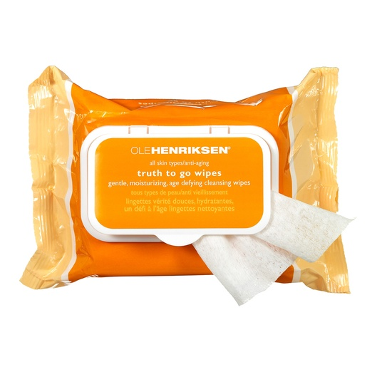 Best Rank & Style + SoulCycle: Post Workout Top Tens - Ole Henriksen Truth To Go Vitamin C Wipes