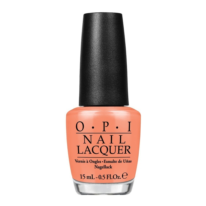 Best Summer 2015 Nail Trends - OPI 'Hawaii Nail Lacquer Collection' in Is Mai Tai Crooked?