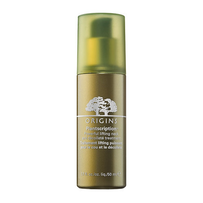 Best Neck Creams and Treatments - Origins Plantscription Powerful Lifting Neck & Décolleté Treatment