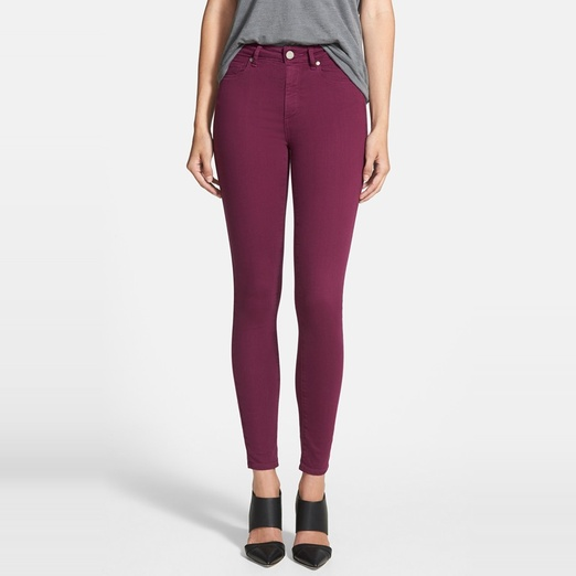 Best Jewel-Toned Denim - Paige Denim 'Hoxton' Ultra Skinny Jeans