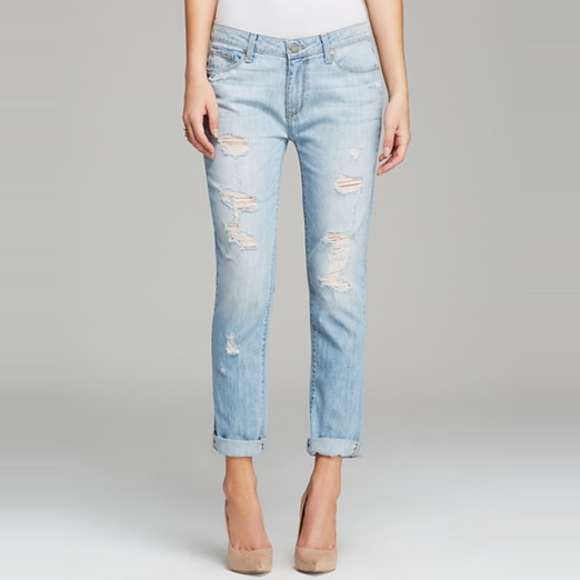 Best Ripped Boyfriend Jeans - Paige Denim Jeans - Jimmy Jimmy Skinny