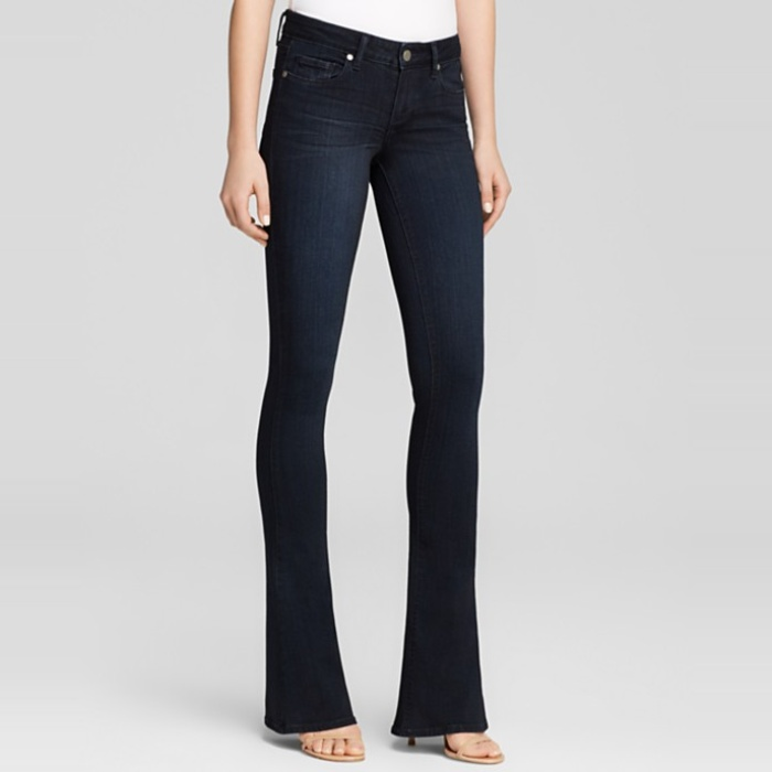 Best Flared Jeans - Paige Denim Jeans Lou Lou Flare in Tonal Mona