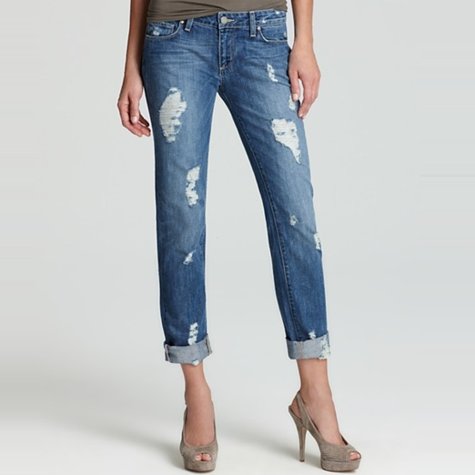 Best Ripped Jeans - Paige Denim Jimmy Jimmy Distressed Jeans