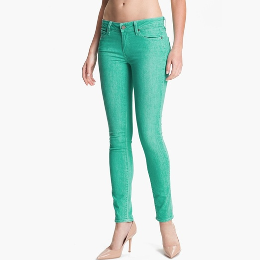 Best Bright Denim - Paige Denim Verdugo Ultra Skinny Jeans