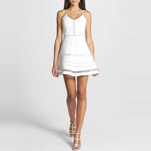 Best Date Night Dresses - Parker Whitfield Flared Halter Dress