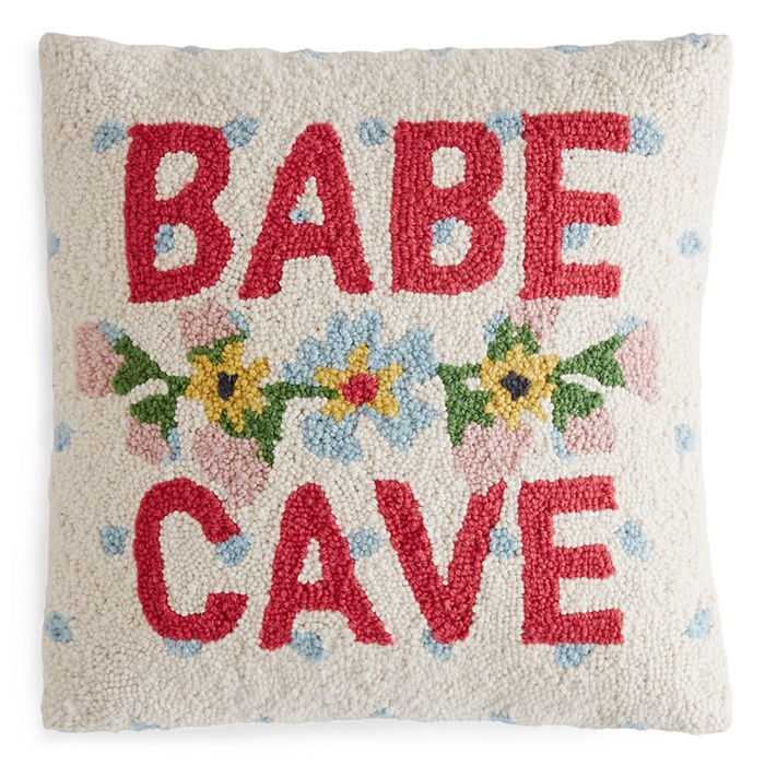 Best Spring Home Accents Under $100 - Peking Handicraft Babe Cave Decorative Pillow