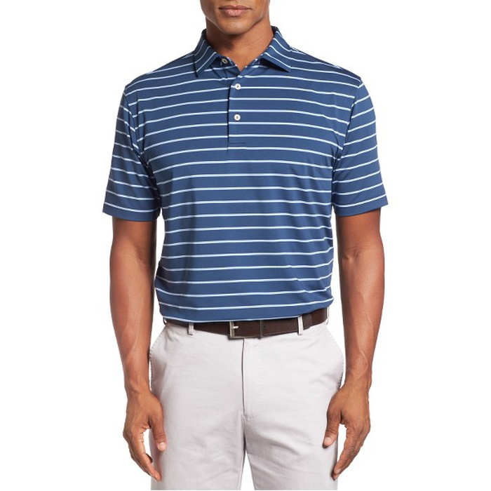 Best Father's Day Gifts Under $100 - Peter Millar Tradeshow Stripe Polo