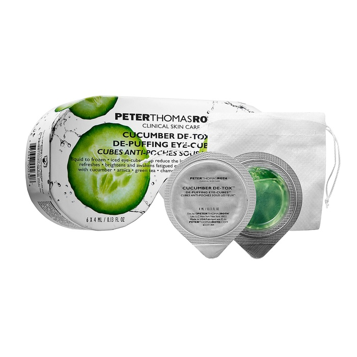 Best Newest Anti-Aging Products of 2015 - Peter Thomas Roth Cucumber De-Tox De-Puffing Eye-Cubes