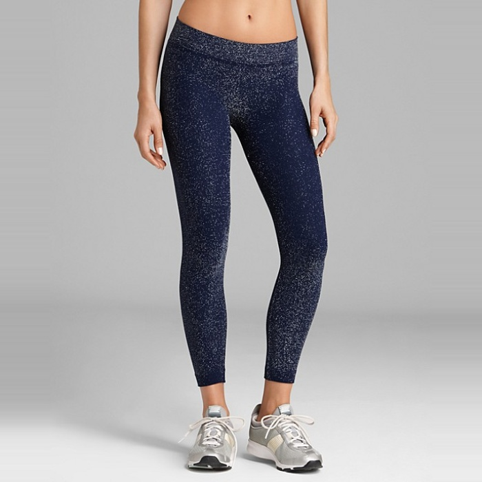 Best Gym-to-Street Fashion - Phat Buddha Jane Shimmer Capri Workout Pants