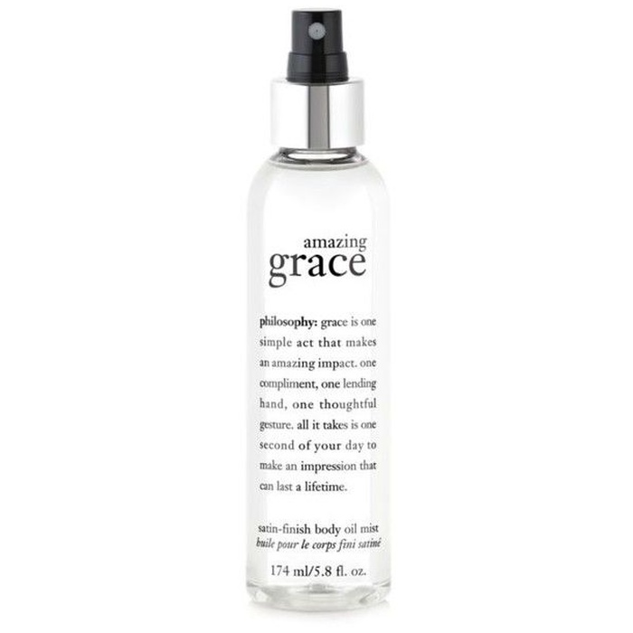 Best Lightweight Body Lotion - Philosophy Amazing Grace Satin-Finish Body Oil Mist