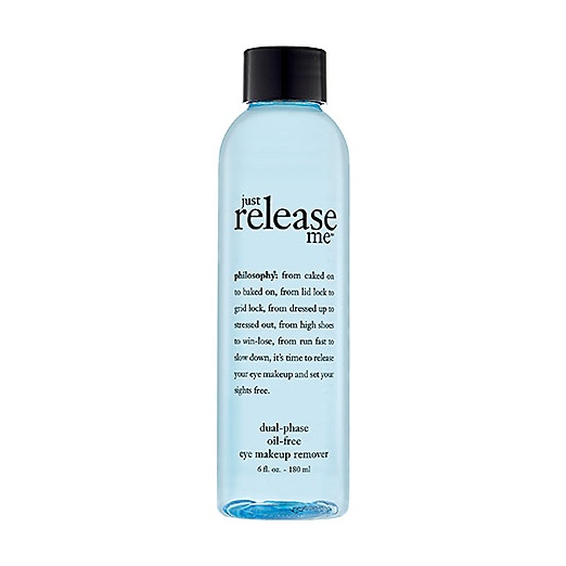 Best Eye Makeup Remover - Philosophy Just Release Me™ Dual-Phase Oil-Free Makeup Remover