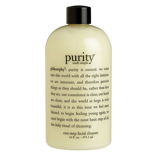 Best Facial Cleansers - Philosophy Purity Made Simple
